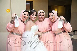 Safy Darwish makeup artist. Work by makeup artist Safy Darwish demonstrating Bridal Makeup.Bridal Makeup Photo #73089