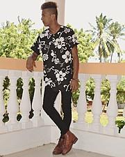 Said Rashid Said model. Photoshoot of model Said Rashid Said demonstrating Fashion Modeling.Lookbook,Hair ColoringEditorial Photography,Fashion Modeling,Fashion Makeup Photo #177375