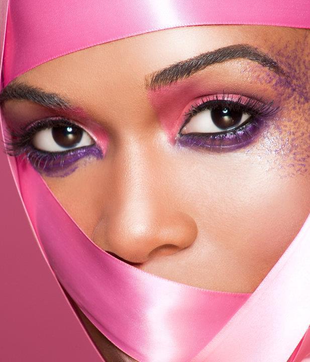 Saisha Beecham makeup artist. Work by makeup artist Saisha Beecham demonstrating Beauty Makeup.Face CloseupBeauty Makeup Photo #45457