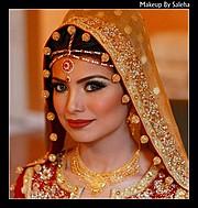 Saleha Abbasi makeup artist. makeup by makeup artist Saleha Abbasi. Photo #47706