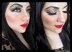 Saleha Abbasi makeup artist. makeup by makeup artist Saleha Abbasi. Photo #47708