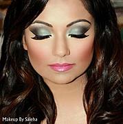 Saleha Abbasi makeup artist. makeup by makeup artist Saleha Abbasi. Photo #47711
