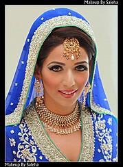 Saleha Abbasi makeup artist. makeup by makeup artist Saleha Abbasi. Photo #47743