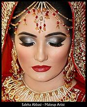Saleha Abbasi makeup artist. makeup by makeup artist Saleha Abbasi. Photo #47828