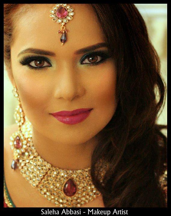 Saleha Abbasi makeup artist. makeup by makeup artist Saleha Abbasi. Photo #47927