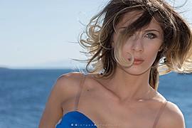 Salome Mikautadze model (μοντέλο), Giorgos Kyropoulos photographer (φωτογράφος). Photoshoot of model Salome Mikautadze demonstrating Face Modeling.photographer: Giorgos KyropoulosPortrait Photography,Face Modeling Photo #185470