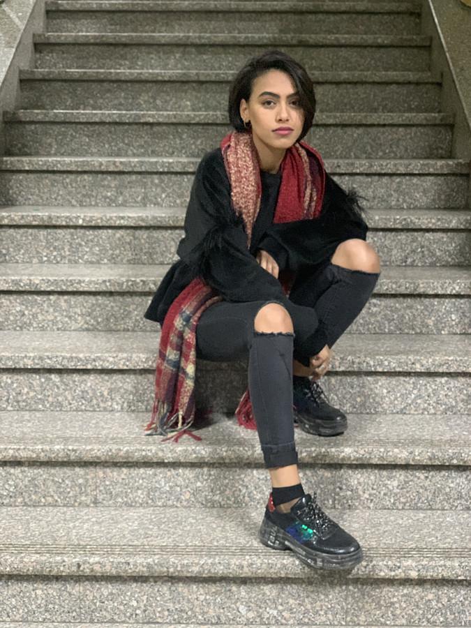 Samar Al Masry model. Photoshoot of model Samar Al Masry demonstrating Fashion Modeling.Fashion Modeling Photo #219455
