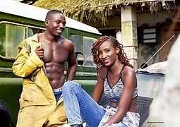 Samuel Mwangi model. Photoshoot of model Samuel Mwangi demonstrating Editorial Modeling.steve Steven KabukaEditorial Modeling Photo #197519