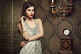 Sana Sarfaraz model. Photoshoot of model Sana Sarfaraz demonstrating Face Modeling.Face Modeling Photo #121445