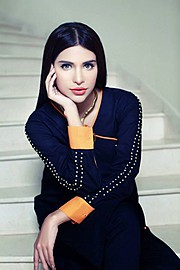 Sana Sarfaraz model. Photoshoot of model Sana Sarfaraz demonstrating Face Modeling.Face Modeling Photo #121449