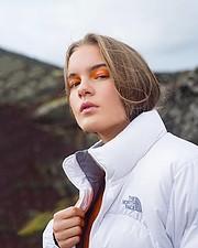 Sandra Asgeirsdottir makeup artist (sminka). Modeling work by model Bryndís Líf.model: Bryndís Líf Photo #191480