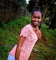 Sandra Mbugua Model