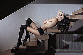 Sara Cardillo model (modella). Photoshoot of model Sara Cardillo demonstrating Body Modeling.Body Modeling Photo #95766