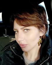 Sara Elguiziry model. Photoshoot of model Sara Elguiziry demonstrating Face Modeling.Face Modeling Photo #218157