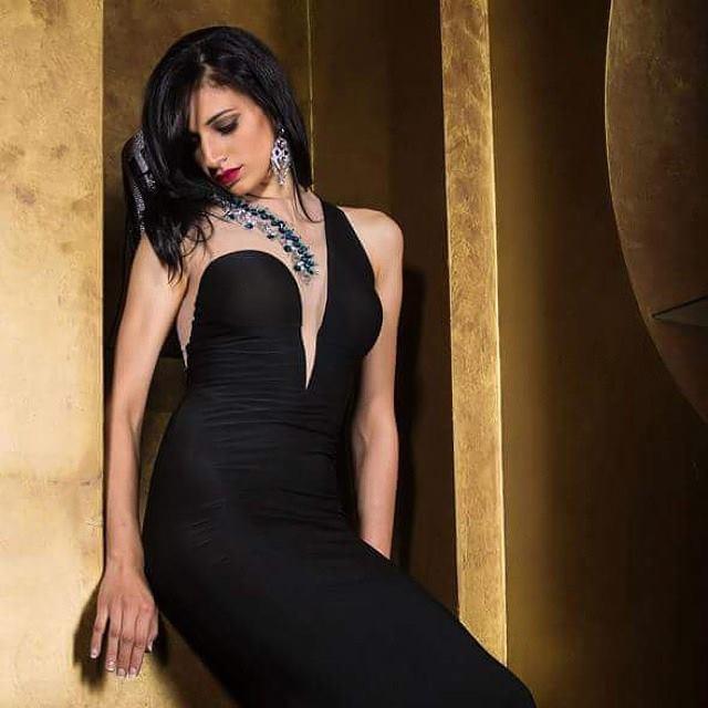 Sara Hazem El Amin model. Photoshoot of model Sara Hazem El Amin demonstrating Fashion Modeling.Evening DressFashion Modeling Photo #160067