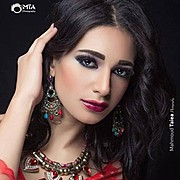 Sara Hazem El Amin model. Photoshoot of model Sara Hazem El Amin demonstrating Face Modeling.Face Modeling Photo #166771