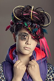 Sara Ibgi makeup artist. Work by makeup artist Sara Ibgi demonstrating Creative Makeup.Creative Makeup Photo #63059