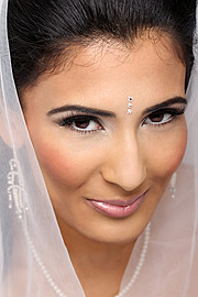 Sara Ibgi makeup artist. Work by makeup artist Sara Ibgi demonstrating Bridal Makeup.Bridal Makeup Photo #63061