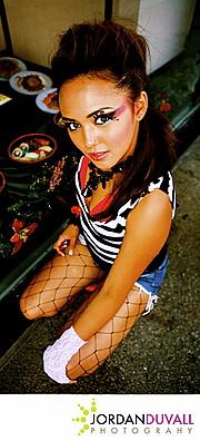 Sarah Alviar model. Sarah Alviar demonstrating Fashion Modeling, in a photoshoot by Jordan Duvall.photographer Jordan DuvallFashion Modeling Photo #120949