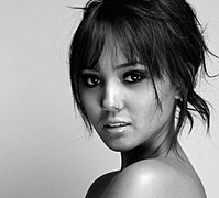 Sarah Alviar model. Photoshoot of model Sarah Alviar demonstrating Face Modeling.MUA: Jessica Marie CoxFace Modeling Photo #120950