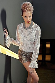 Sarah Degraeve model. Photoshoot of model Sarah Degraeve demonstrating Fashion Modeling.Fashion Modeling Photo #70226