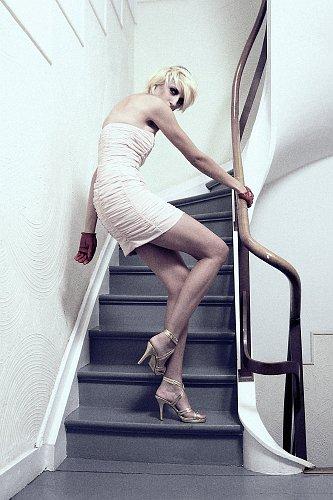 Sarah Degraeve model. Photoshoot of model Sarah Degraeve demonstrating Fashion Modeling.Fashion Modeling Photo #70230