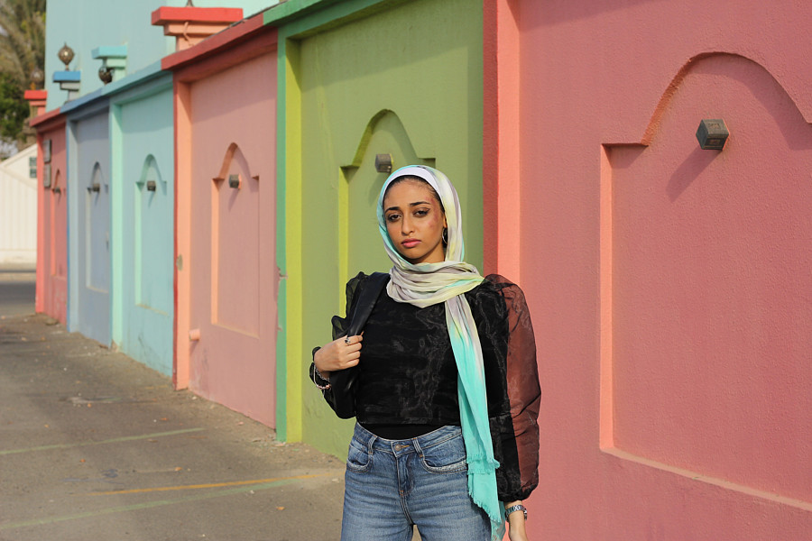 Sarah Hassan model. Modeling work by model Sarah Hassan. Photo #224676