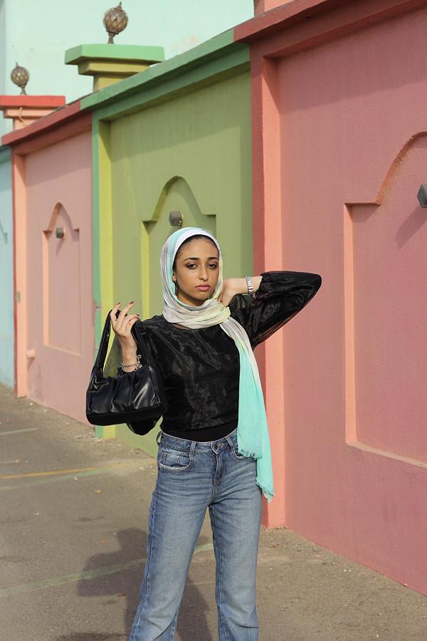 Sarah Hassan model. Photoshoot of model Sarah Hassan demonstrating Fashion Modeling.Fashion Modeling Photo #224678