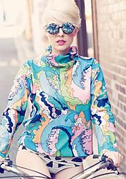 Sarah Livingstone model. Sarah Livingstone demonstrating Fashion Modeling, in a photoshoot by Glen Krohn.Peppermint Magphotographer Glen KrohnFashion Modeling Photo #111286