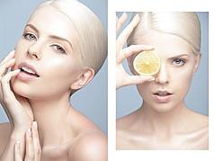Sarah Livingstone model. Photoshoot of model Sarah Livingstone demonstrating Face Modeling.Face Modeling Photo #70740
