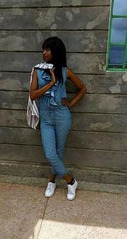 Sarah Mokami model. Photoshoot of model Sarah Mokami demonstrating Fashion Modeling.Fashion Modeling Photo #210231