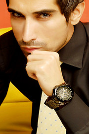 Sarhan Khan model & actor. Photoshoot of model Sarhan Khan demonstrating Face Modeling.Face Modeling Photo #222049