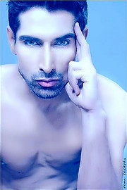 Sarhan Khan model & actor. Photoshoot of model Sarhan Khan demonstrating Face Modeling.Face Modeling Photo #222216