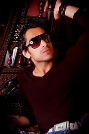 Sarhan Khan model & actor. Photoshoot of model Sarhan Khan demonstrating Face Modeling.Face Modeling Photo #222221