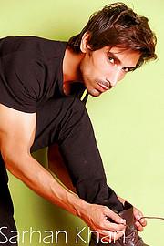 Sarhan Khan model & actor. Photoshoot of model Sarhan Khan demonstrating Fashion Modeling.Fashion Modeling Photo #222226