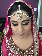Selma Khan is the Chief Hair and Makeup artist for i-makeup and is based in the Midlands. Trained by Mac Pro Makeup Artists as well as Shama