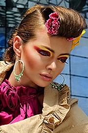 Sha Shamsi makeup artist. Work by makeup artist Sha Shamsi demonstrating Beauty Makeup.Beauty Makeup Photo #71982