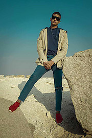 Shehab Hoba model. Photoshoot of model Shehab Hoba demonstrating Fashion Modeling.Fashion Modeling Photo #206191