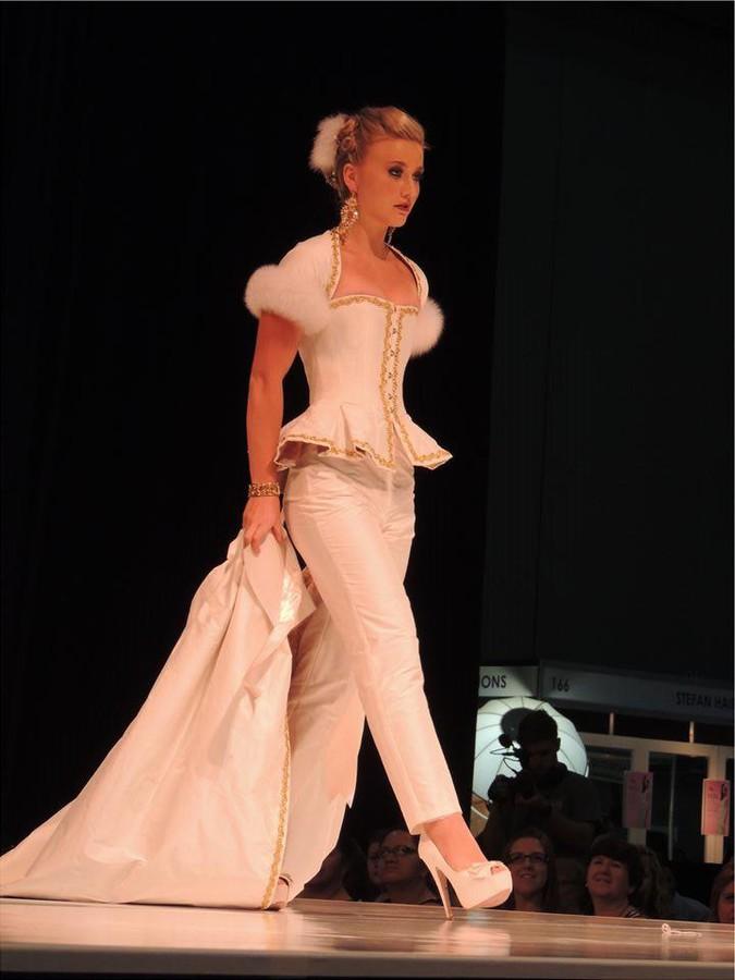 Sherie Marie Wilcox beauty therapist & model. Photoshoot of model Sherie Marie Wilcox demonstrating Runway Modeling.Runway Modeling Photo #92839