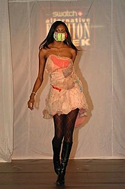Shevon White model. Photoshoot of model Shevon White demonstrating Runway Modeling.Runway Modeling Photo #175083