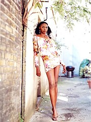 Shevon White model. Photoshoot of model Shevon White demonstrating Fashion Modeling.Fashion Modeling Photo #175126