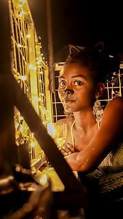 Shirlyn Macharia model. Photoshoot of model Shirlyn Macharia demonstrating Face Modeling.@sons.andreaFace Modeling Photo #227997