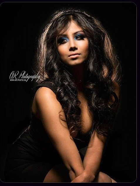 Simran Brittany Dhee model. Photoshoot of model Simran Brittany Dhee demonstrating Face Modeling.Face Modeling Photo #91307