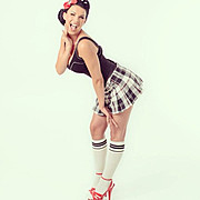 Sini Ariell model. Photoshoot of model Sini Ariell demonstrating Fashion Modeling.Fashion Modeling Photo #112454