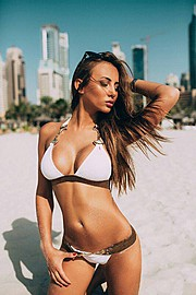Sitorabanu Israilova model. Photoshoot of model Sitorabanu Israilova demonstrating Body Modeling.Body Modeling Photo #123280