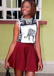Snaida Akinyi model. Photoshoot of model Snaida Akinyi demonstrating Fashion Modeling.Fashion Modeling Photo #219539