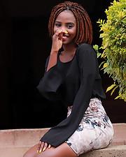 Snaida Akinyi model. Photoshoot of model Snaida Akinyi demonstrating Fashion Modeling.Fashion Modeling Photo #219541