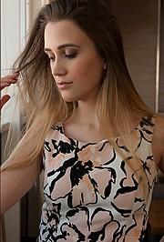Sno Valeriia model. Photoshoot of model Sno Valeriia demonstrating Face Modeling.Face Modeling Photo #169900