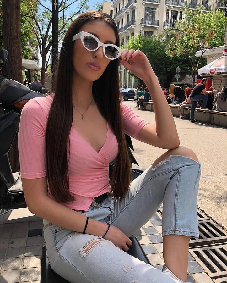 Sofia Manousaki model (Σοφία Μανουσάκη μοντέλο). Photoshoot of model Sofia Manousaki demonstrating Fashion Modeling.Fashion Modeling Photo #206758