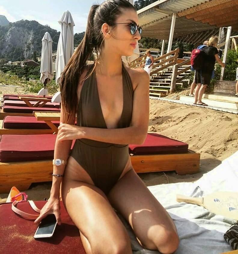 Sofia Manousaki model (Σοφία Μανουσάκη μοντέλο). Photoshoot of model Sofia Manousaki demonstrating Body Modeling.Body Modeling Photo #206804